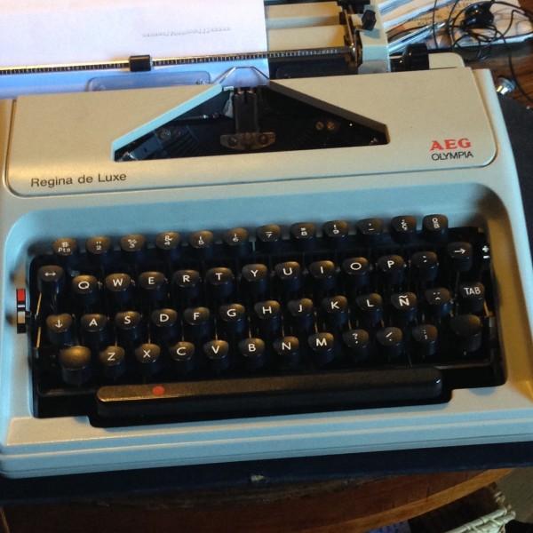 Las máquinas de escribir no son sólo para coleccionistas